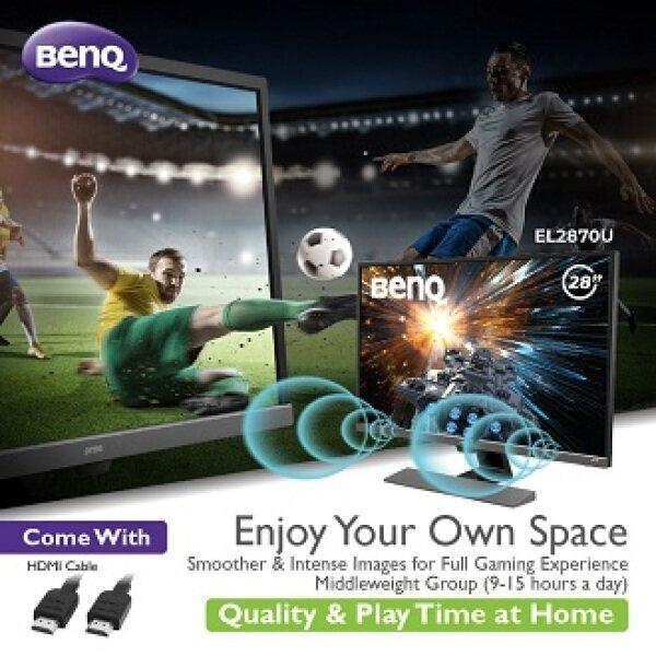 BenQ 28  EL2870U 4K HDR Video Enjoyment Monitor Malaysia