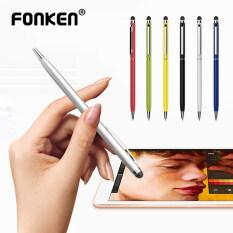 FONKEN Bút Cảm Ứng Đa Năng 2 Trong 1 Bút Máy Vi Tính Màn Hình Cảm Ứng, Cho Android iPhone Bút Vẽ