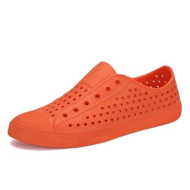 Mùa Hè Giày Phẳng, Phụ Nữ Thường Giày Trượt-On Giày Đế Thoáng Khí Phụ Nữ Giày, Unisex Căn Hộ Rỗng Dép Bãi Biển Ngoài Trời Zapatos giá rẻ