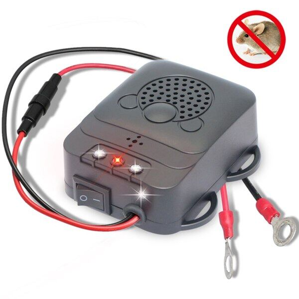 Electronic Ultrasonic Vehicle Animal Repeller Mouse Expeller Low Power Car Engine Compartment Cockroach Keep Rodent Marten Away