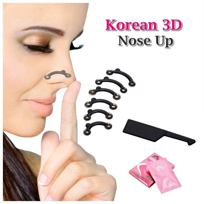 [ready Stock] Korean 3d Nose Up By Raff Stores.