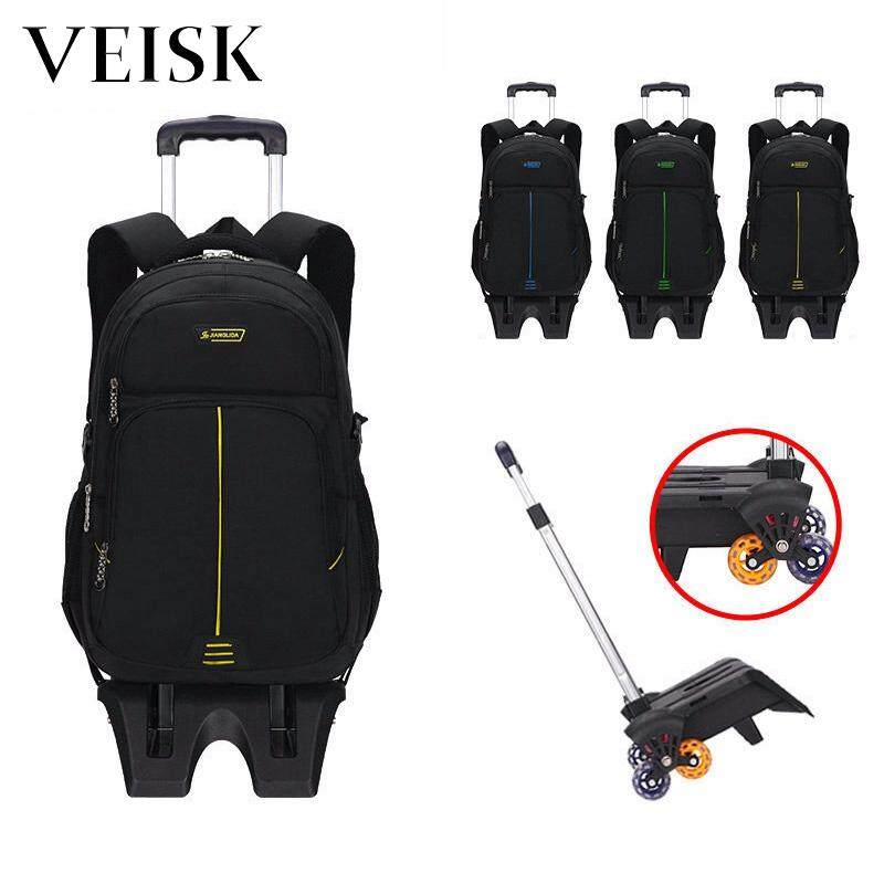 Veisk Rod Tug Bag Primary Removable Heightening The Stairs 6 Wheels