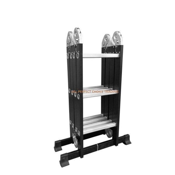12 Steps Folding Ladder 4X3 Multipurpose Heavy Duty / Tangga