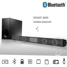 JMS Soundbar Loa Bluetooth Loa Bluetooth Không Dây Loa Bluetooth Di Động Nguồi Kép Đa Năng Trumpet Bluetooth 4.0 5W * 2 330Mm Nhạc HIFI Máy Nghe Nhạc FM Rạp Hát Tại Nhà Bằng Giọng Nói Cuộc Gọi