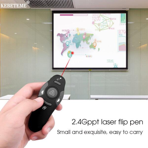 Bảng giá Kebeteme Không Dây Dẫn Chương Trình USB 2.4GHz RF Con Trỏ Bút IR PPT PowerPoint Bấm Bút Điều Khiển Từ Xa Lật Trang Trình Bày người Dẫn Chương Trình Phong Vũ