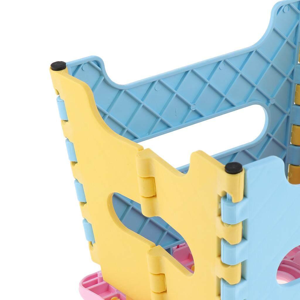 BolehDeals 3 Piece Folding Step Stool for Kids Kitchen Garden Bathroom Stepping Stool