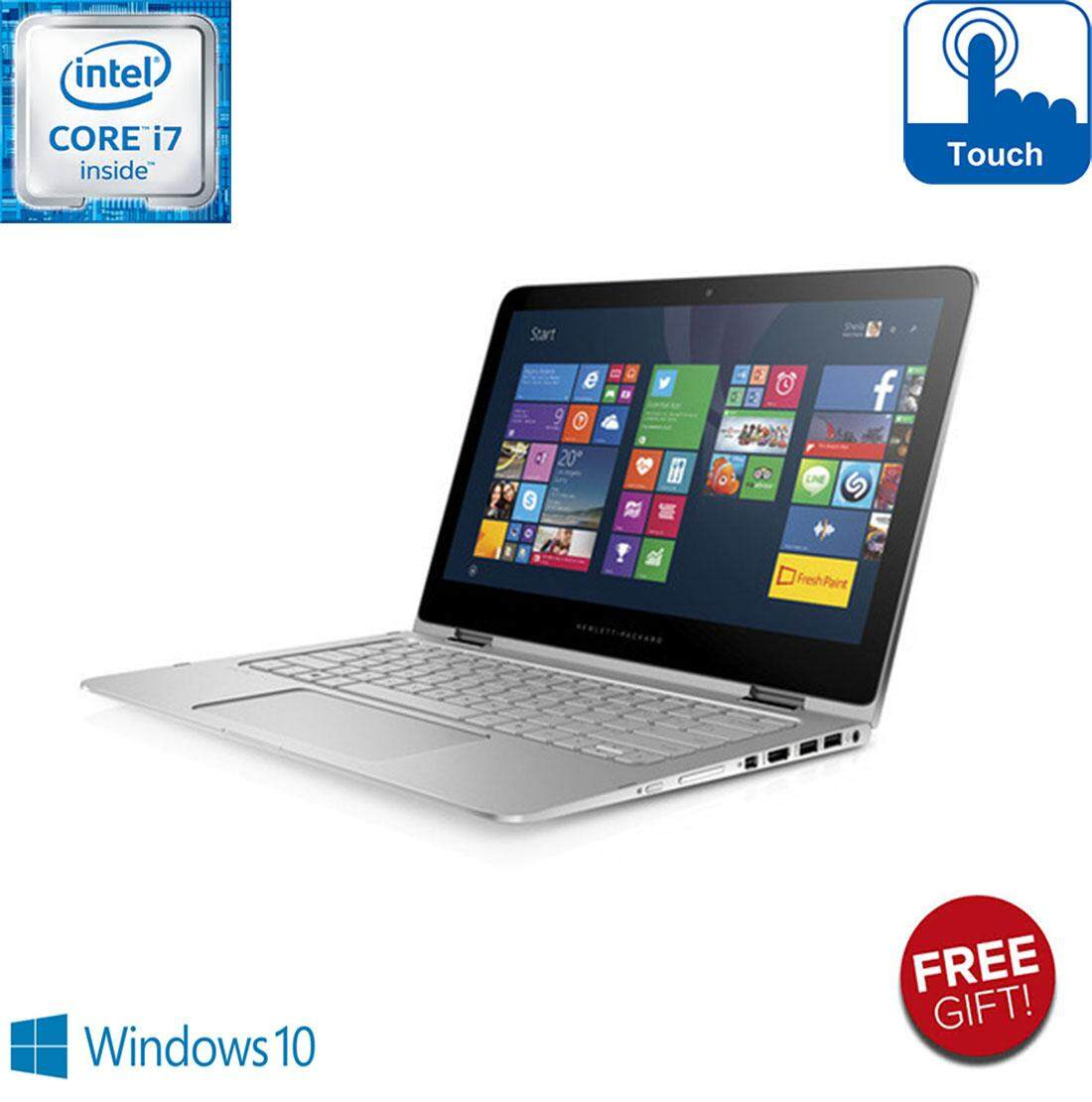 HP SPECTRE X360 2-IN-1 TOUCH SCREEN  [CORE i7 / 8GB RAM / 256GB SSD / 2K DISPLAY / FREE GIFT] / Malaysia