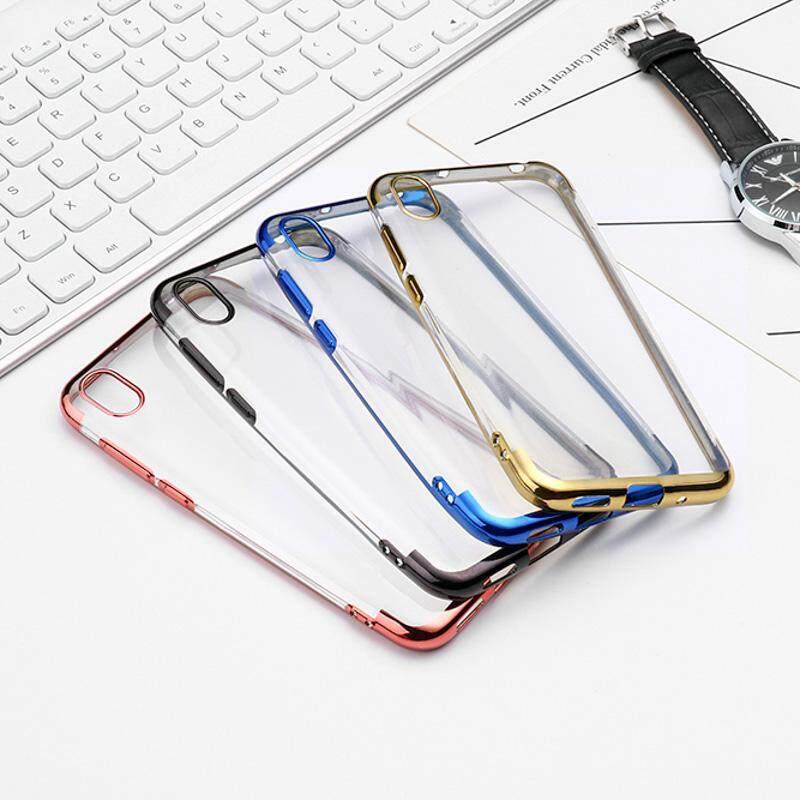 Casing Karet Silikon Transparan Casing Ponsel untuk Huawei Kehormatan 8 S/Nova 5i/Y9 PRIME 2019/Oppo Realme X /Realme X Lite/Reno Z/Vivo X27 Pro/Y17/Z5X/Xiaomi Serta CC9/ redmi K20