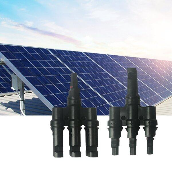 OSMAN Panel Connector Solar Photovoltaic Connector T-Type Tee Plug 3 In 1 Out