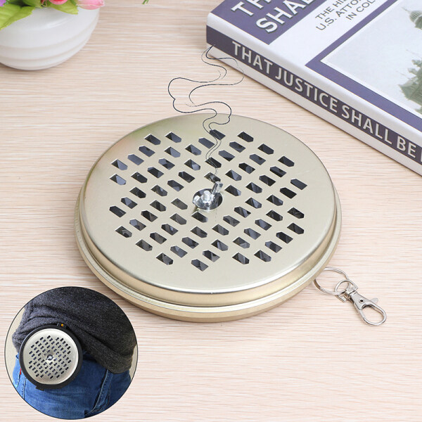 ZHANG Mosquito Coils Holder Insect Repellent Incense Plate for Home Outdoor Carry