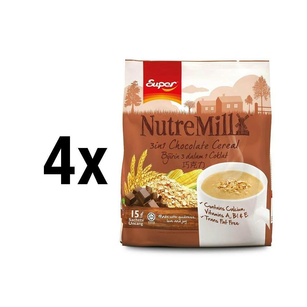 [bundle Of 4]    Céréales au chocolat Super Nutremill 3en1 dans la boutique officielle Super.