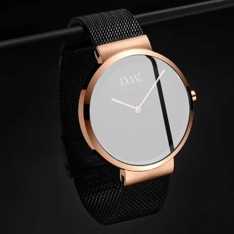 Thụy Sĩ chính hãng mới 2019 DW Đồng hồ nam và nữ Đồng hồ cơ tự động chống nước CK Triều Đồng hồ cặp đôi bán chạy