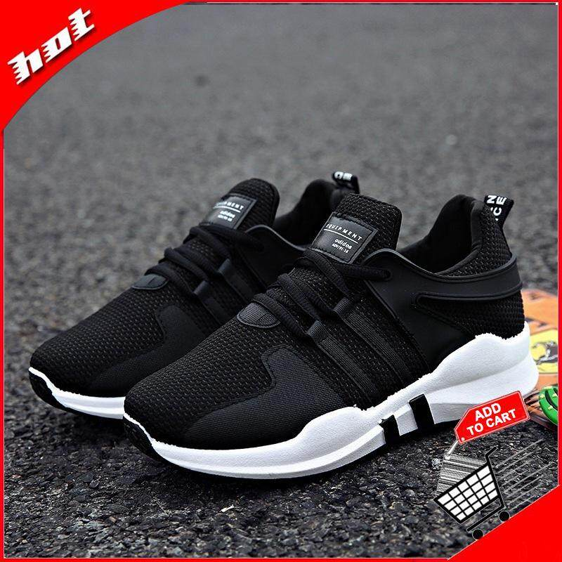 Ocean Women Running Shoes Outdoors Soft sole Lace-up Ventilation Net surface Student shoes (