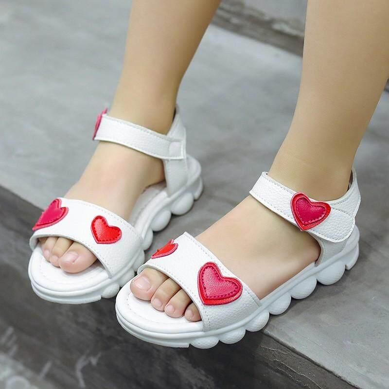 Giá bán 2009 Mới Giải Trí Mùa Hè Giày Sandal Bé Gái chống Trơn Trượt Softsole Giày Chao Phiên Bản Hàn Quốc Baitao Bé Yêu Thương Giày Đi Biển