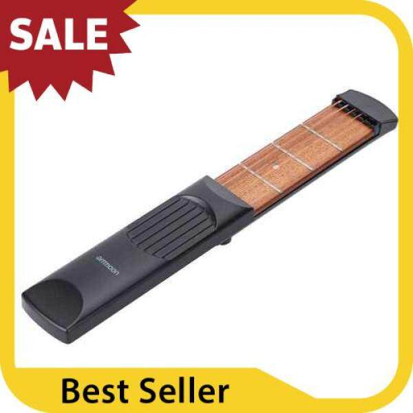 BEST SELLER ammoon Portable Pocket Acoustic Guitar Practice Tool Gadget Chord Trainer 6 String 4 Fret Model for Beginner Malaysia