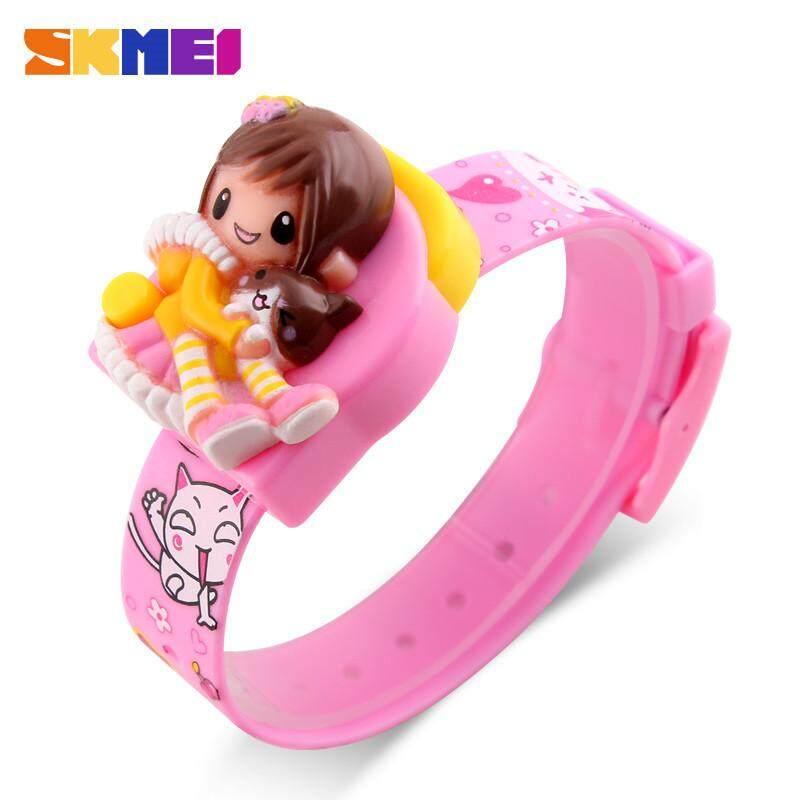 SKMEI Childrens Watches Cartoon Cute Girl Watch Beautiful Princess Watch Fashion Casual Girl Child Student Digital Watch Malaysia