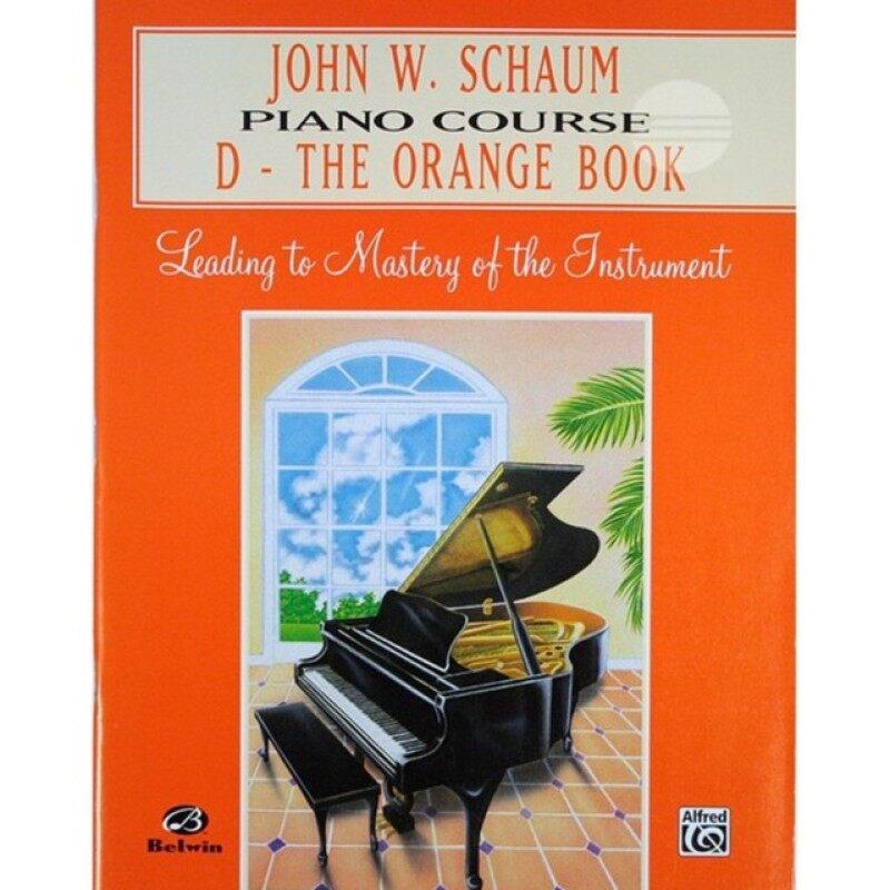 JOHN W. SCHAUM Piano Course D - The Orange Book Malaysia
