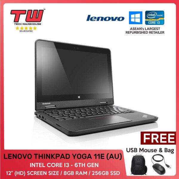 LENOVO THINKPAD YOGA 11E (AU) /INTEL CORE I3 - 6TH GEN/ 2-IN-1 LAPTOP/ 12 / 8GB RAM / 256GB SSD/TECH WAREHOUSE (FACTORY REFURBISHED) Malaysia