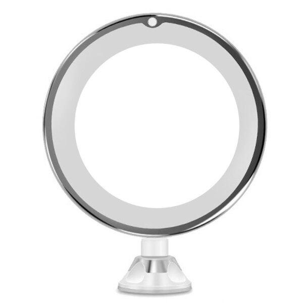 Gương Trang Điểm Phóng Đại 10 Lần Xoay 360 Độ Của Tôi Linh Hoạt Gương Gấp Vanity Gương Với Ánh Sáng LED Các Công Cụ Trang Điểm giá rẻ