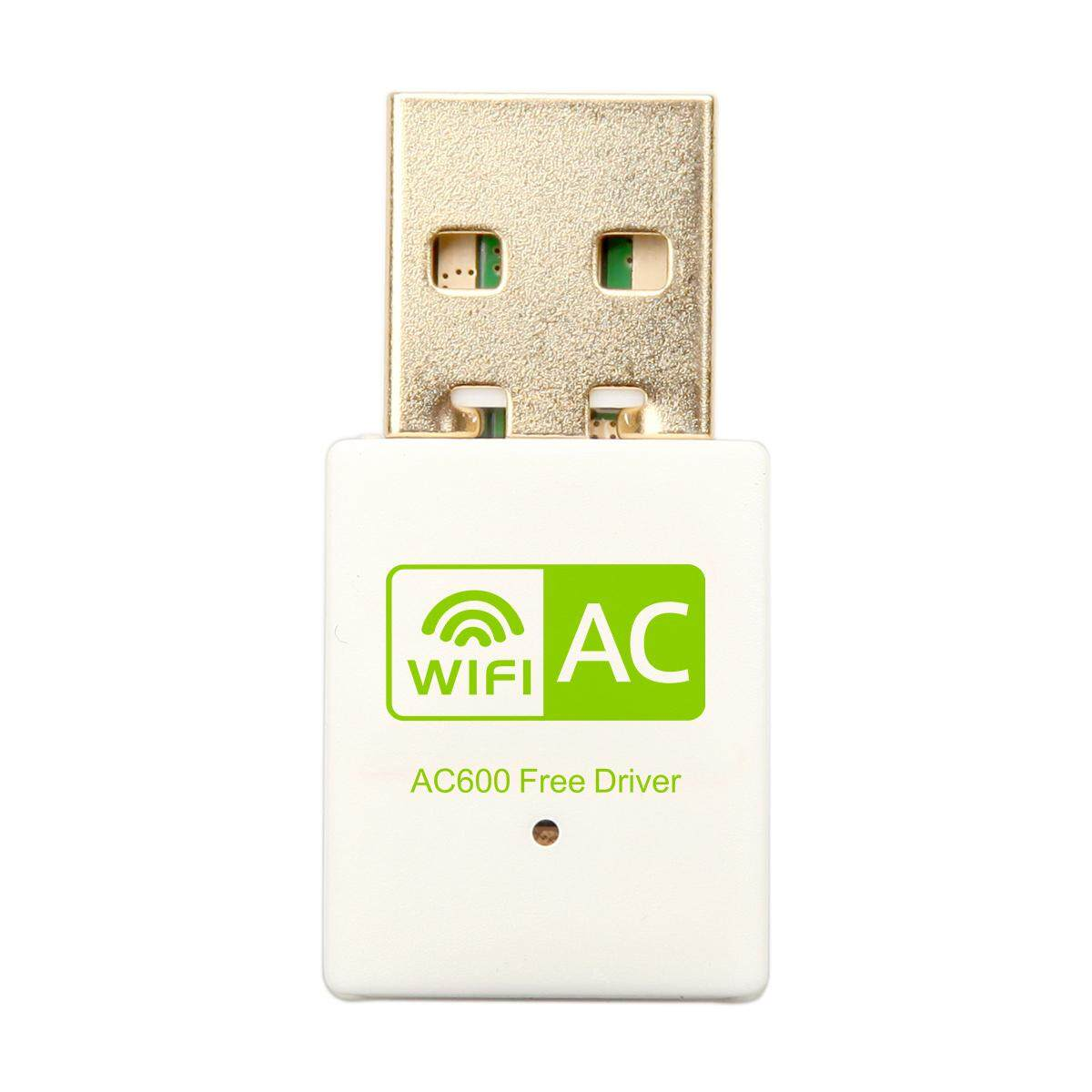 5GHz Dongle USB 2.4GHz Dual Band Wireless 600Mbps WiFi Adapter 802.11ac//a//b//g//n