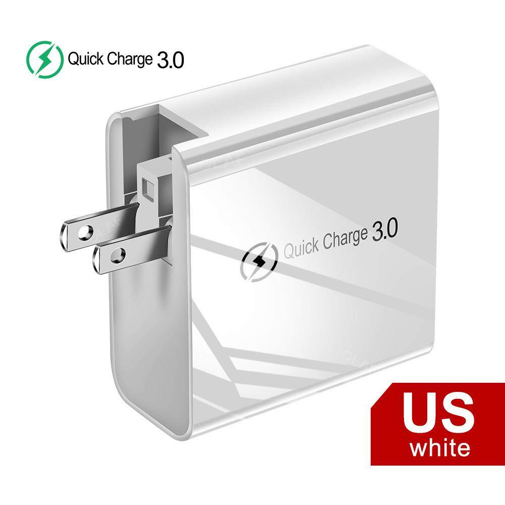 48W Multi Quick Charger PD Type C USB Charger for Samsung iPhone Huawei Tablet QC 3.0 Fast Wall Charger US EU UK Plug Adapter