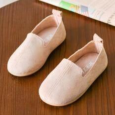 Myapple Miễn Phí Vận Chuyển Bé Thời Trang Cho Trẻ Em Nữ Trơn Màu Sắc Giản Dị Đơn Da Pricness Giày