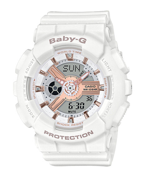 [BDAY SALE] Baby_G_White Rose Gold Watch For Women Malaysia