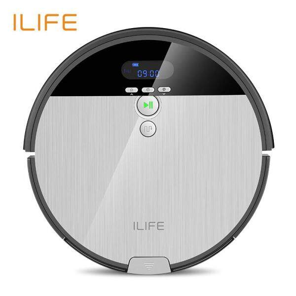 ILIFE V8s Robot Vacuum Cleaner Sweep Wet Mop Navigation Planned Cleaning 0.75L Dustbin Water Tank Singapore