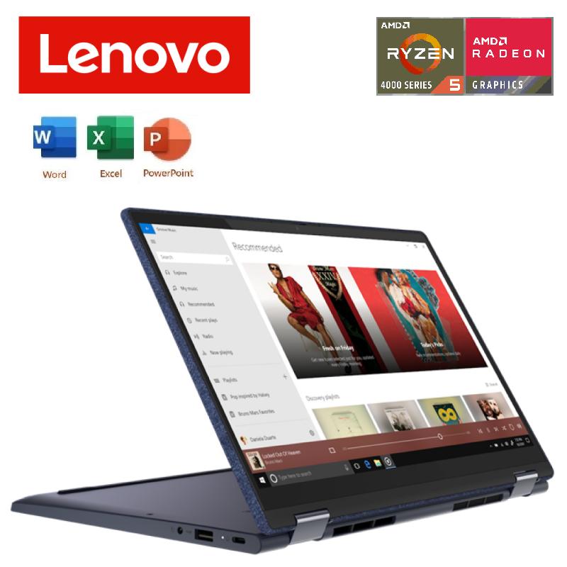 Lenovo Yoga 6 13ARE05 82FN0035MJ 13.3 FHD Touch Laptop Abyss Blue (Ryzen 5 4500U, 8GB, 512GB SSD, ATI, W10, FREE H & STUDENT) Malaysia