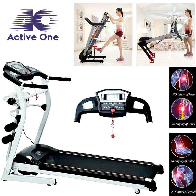 Activeone Multi-Function Motorized Folding Treadmill By Active One.