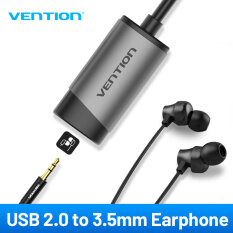 Vention USB External Sound Card USB to AUX Jack 3.5mm Earphone Adapter Audio Mic Sound Card 5.1 Free Drive for Computer Laptop