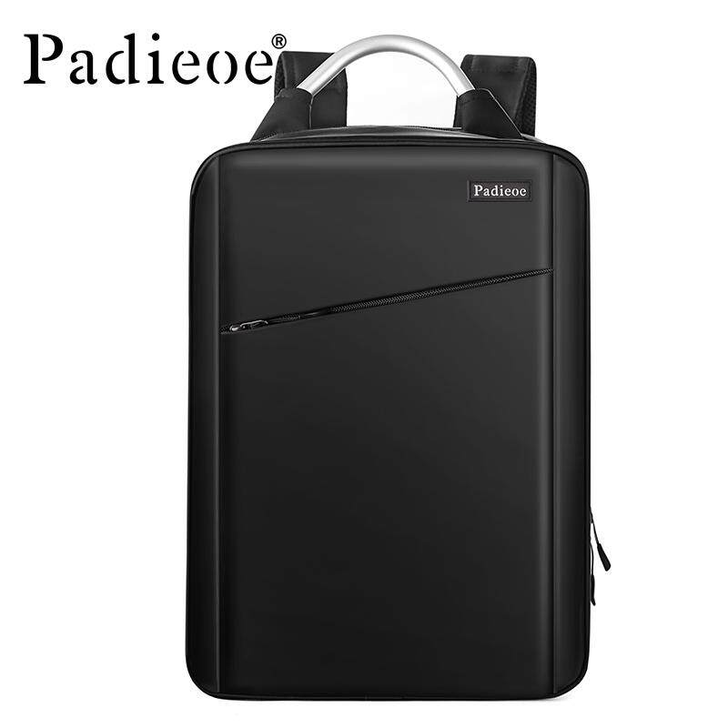 Padieoe New Fashion Men Shoulder Bag Men School Bag Male Genuine Leather  Korean High Quality Korean 1bdc4041cf6d9