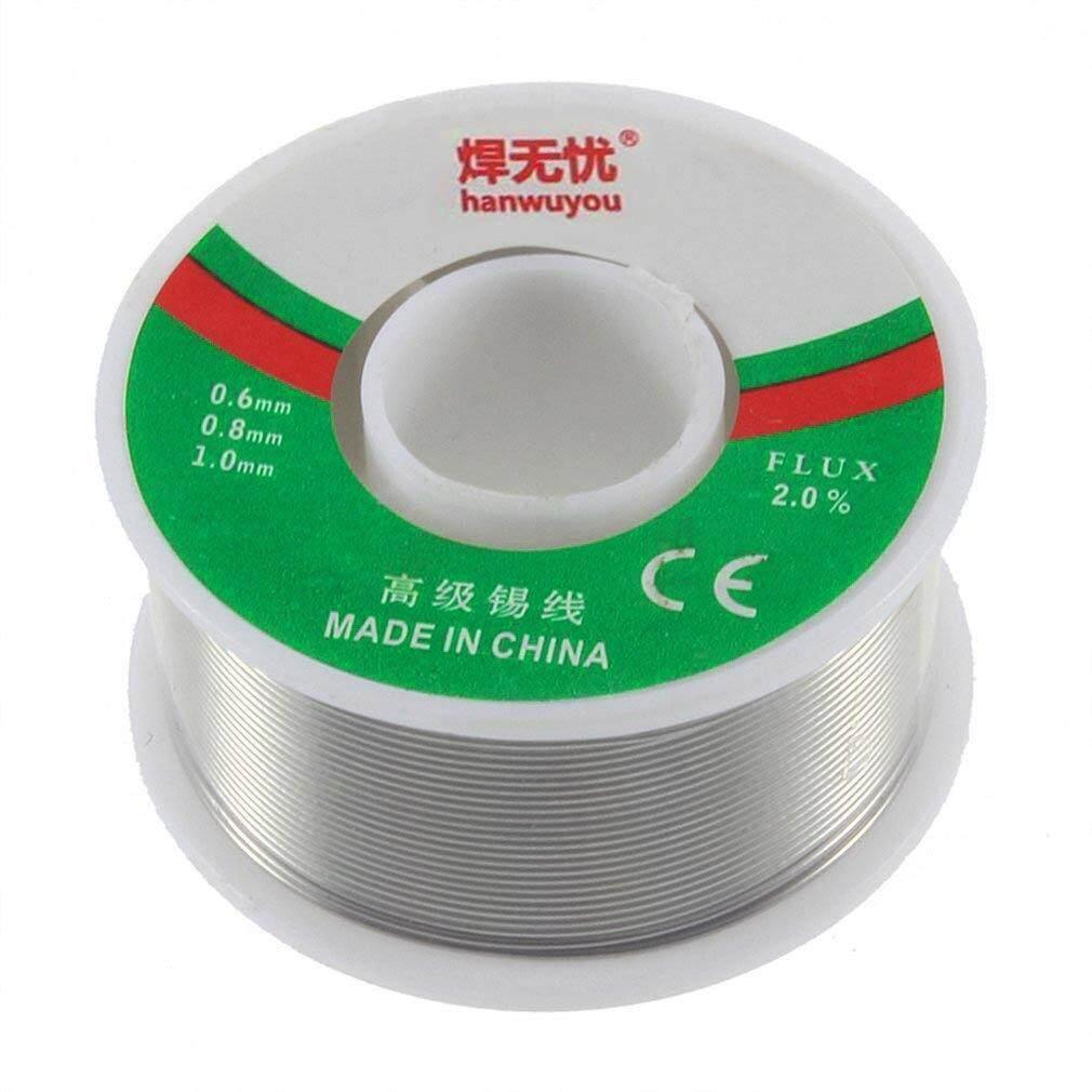 Best Sellers Tin/Lead 0.8mm Diameter Rosin Roll Tin Rosin Core Flux Solder Wire Reel