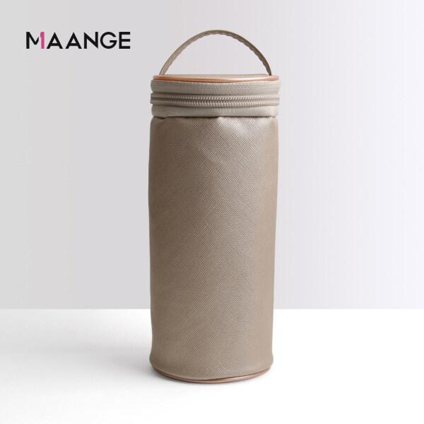 Túi đựng cọ trang điểm Maange cho nữ có tay xách tiện lợi dùng khi đi du lịch - INTL