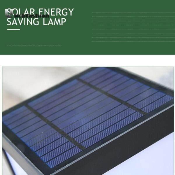 Năng lượng mặt trời Hàng Rào Bài LED Cap Sáng Chống Nước Ngoài Trời Sân Vườn Bể Đèn Đường