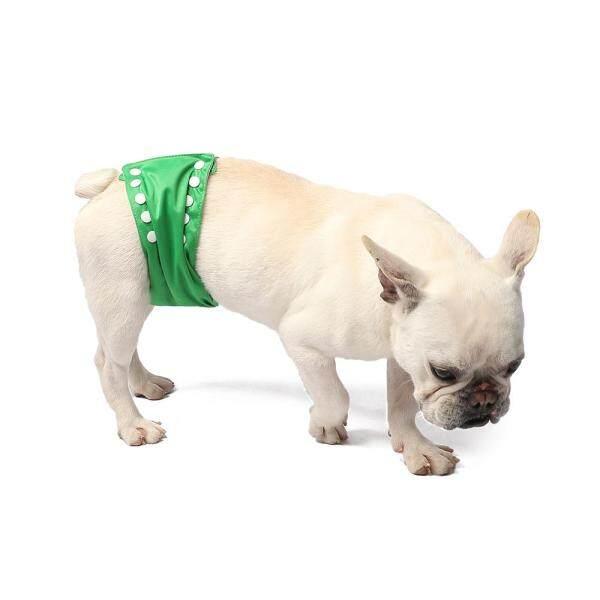 2 cái tã cho chó cưng giặt được Bọc bụng chó con có thể giặt Có thể điều chỉnh một kích thước Để làm sạch phòng