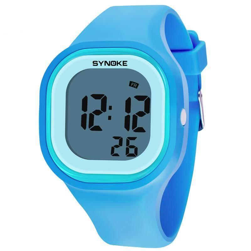 Children Waterproof Digital Luminous Watch Student Sports Digital Electronic Wrist Watch Malaysia