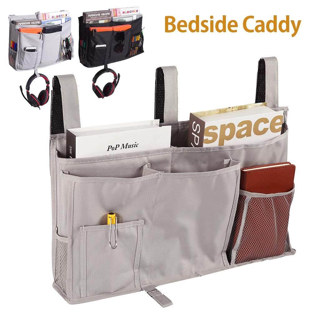 Bed Bedside Tidy Pocket Chair Organiser Storage Holder Cabin Shelf Bunks