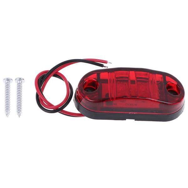 Yertfdg 1 Chiếc Đèn Rọi Khe Hở Đánh Dấu Bên 2 Bóng LED Xe Xe Tải Trailer Caravan Đèn