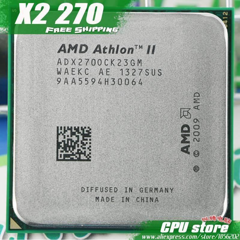 AMD Athlon II X2 270 CPU Dual-Core processor (3.4 Ghz / L2 = 2 M / 65 with 2000 GHz) female am3 am2 + 938 pin sell X2 280