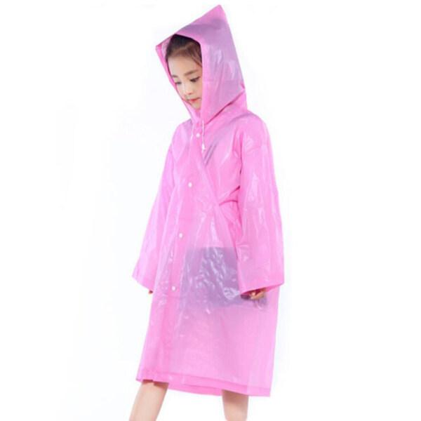 gaoba 1pcs Anti-droplet Virus Bacteria Non-disposable Children Thickened Raincoat