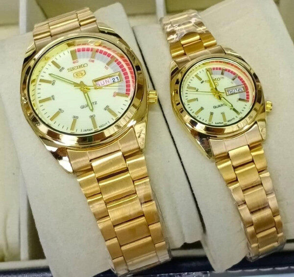 Special Promotion New Seiko_Couple Set Analogue Stainless Steel Watch For Unisex Limited Edition Malaysia