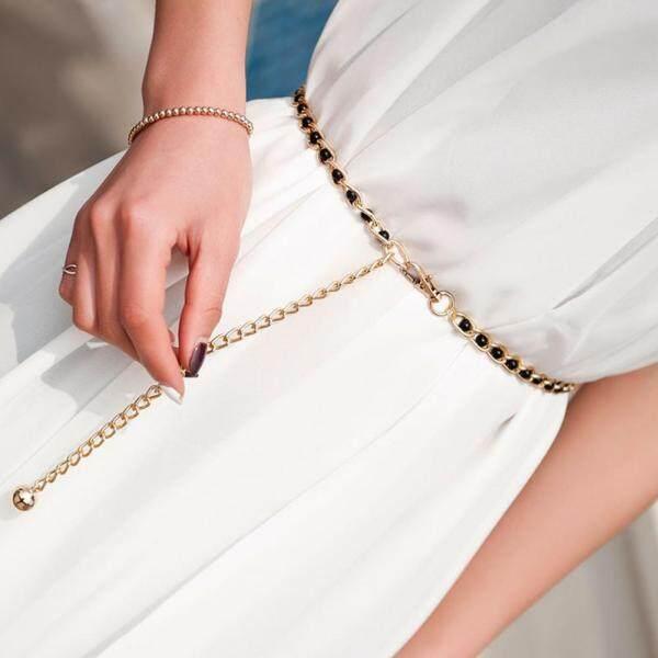 Thắt lưng Olivet dành cho nữ, nguyên liệu chuỗi ngọc trai nhân tạo, phụ kiện kết hợp cùng váy tạo nên thời trang - INTL