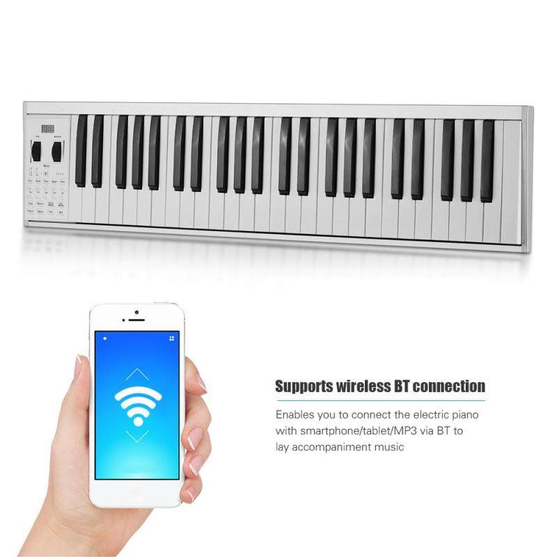 Portable Electronic Keyboard Piano 49 lighted Keys Built-in Speaker with Bag Malaysia