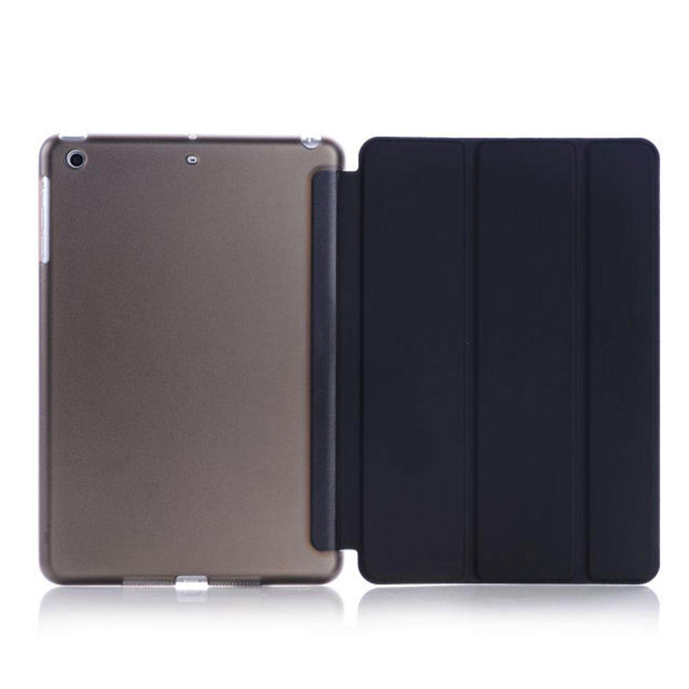 AU Slim Smart Cover Hard Back Magnetic Wake Up Case for Apple iPad Mini 1 2