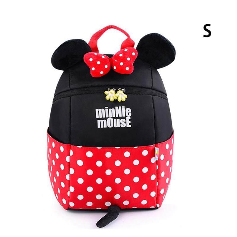 e81a54f316 Kids Backpack Children School Bag Cartoon Mic key Min nie Mouse Schoolbag Shoulder  Bag