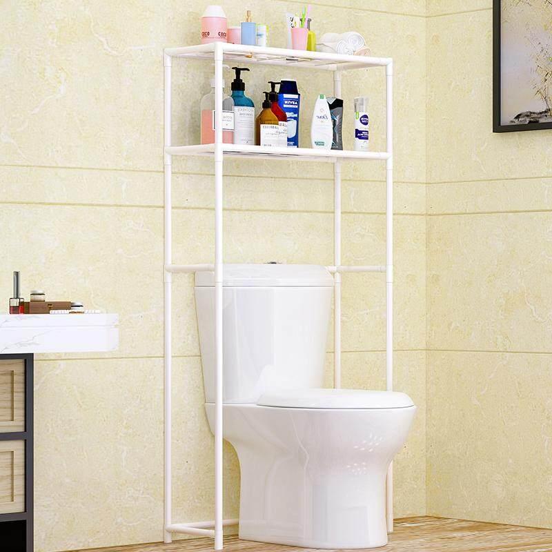 FOO1 Bathroom Washing Machine Storage Shelf Toilet ma tong jia Toilet Organizing Rack Floor Storage Shelves