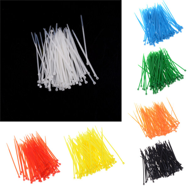Bảng giá LEI 100pcs 3x100mm Nylon Plastic Colourful Cable Wire Organiser Zip Tie Cord Strap