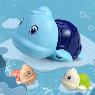 Đồ chơi nhà tắm rùa có mũ bơi vặn cót siêu cưng chất liệu an toàn cho bé thỏa sức vui chơi - INTL thumbnail