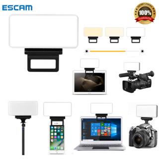 ESCAM, Bảng Đèn LED Video Z1 Đèn Chụp Ảnh Có Thể Điều Chỉnh Độ Sáng 10 Cấp 2600K-6000K Đèn Chụp Ảnh Studio thumbnail